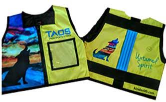 ski school kids safety vest kinderlift