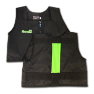 Black and Lime Green Kinderlift Vest