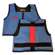Royal Blue and Red Kinderlift Vest