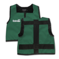 Forrest Green and Black Kinderlift Vest