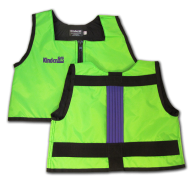 Lime Green and Purple Kinderlift Vest