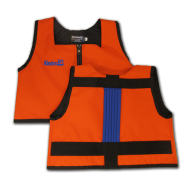 Orange and Royal Blue Kinderlift Vest