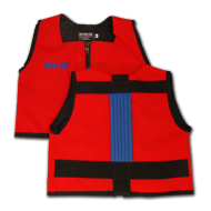 Red and Royal Blue Kinderlift Vest