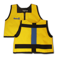 Yellow and Royal Blue Kinderlift Vest