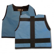 Powder Blue and Black Kinderlift Vest