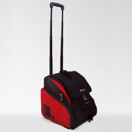 The SkBoot Ski Boot Bag – Medium (Red and Black)