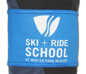 blue-arm-band-with-ski-resort-logo
