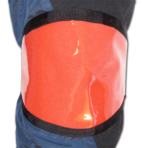 orange-oval-arm-band-for-ski-resort-customization