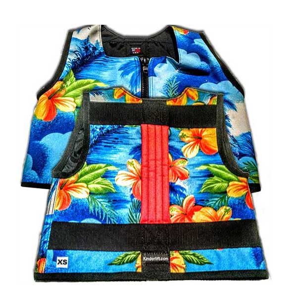 Hawaiian Kinderlift Ski Vest Children