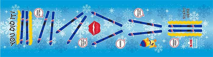 learn to ski mat custom kinderlift product